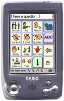 Picture of Enkidu palmtop AAC device