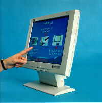 Photograph monitor and Touch Screen